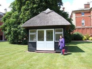 Queen Mary's revolving summer house