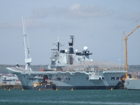UK's last aircraft carrier