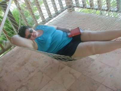 a hammock for reading in,