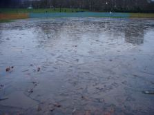 The state of Paddington Recreation Ground cricket pitch just keeps getting worse