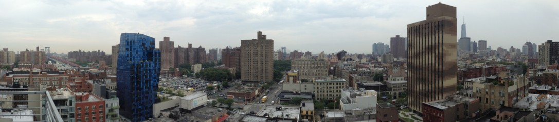 View from Hotel on Rivington
