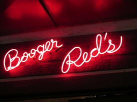 Booger Red's bar