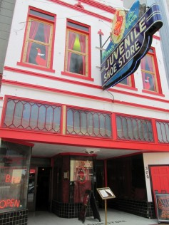 Old Juvenile Shoe Store is now the Red Goose bar