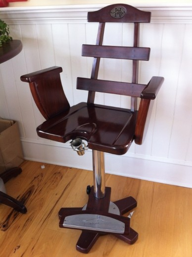 Fishing-chair bar stool