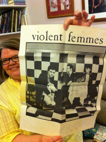 Signed Violent Femmes poster