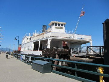 Old ferry boat