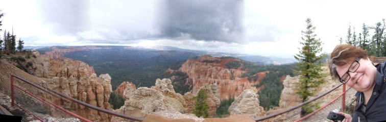 Rainbow Point — at Bryce Canyon National Park.