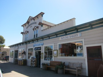 1896 store at Point Reyes Station, California