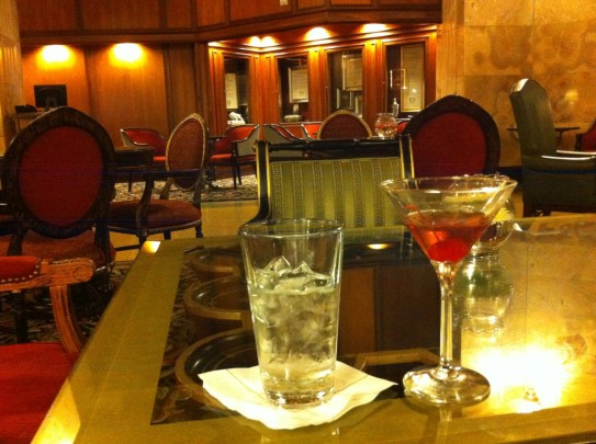 Cocktails at The Brown Palace