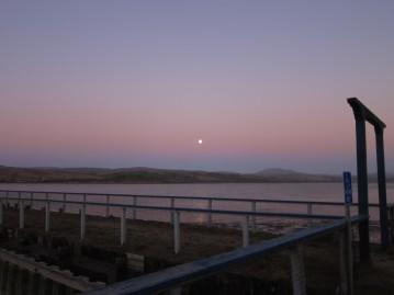Sunset at Tomales Bay Resort