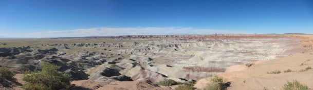 Painted desert. Who painted it?