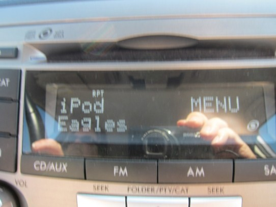Taking it easy (piping the iPod through the car radio)