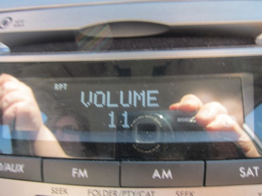 The volume goes up to 11