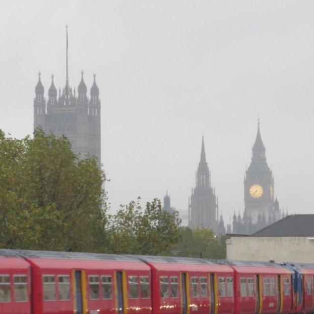 View from Vauxhall around 07:38