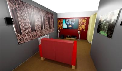 28th August - cinema room plan