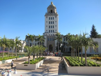 Beverly Hills City Hall (played the police station in Beverly Hills Cop)