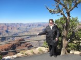 Michelle at the Grand Canyon
