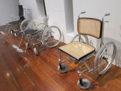 Wheelchairs crossed with classic chair designs