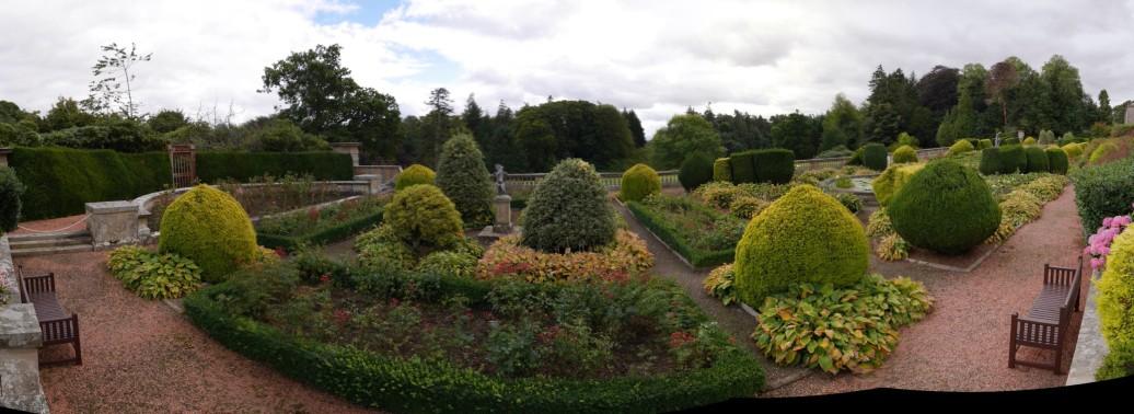 Manderston House terrace