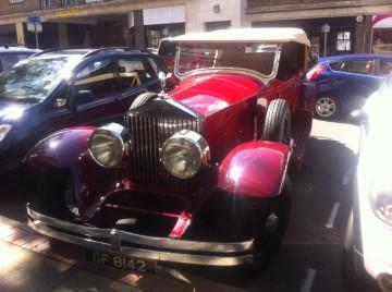 Old car in Leatherhead