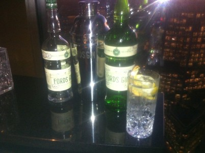 Ford's gin martini & oyster night @ Tower 42
