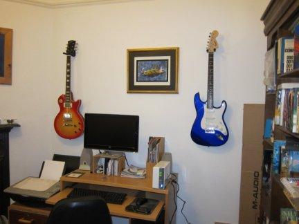 Gitarrenwandhalter