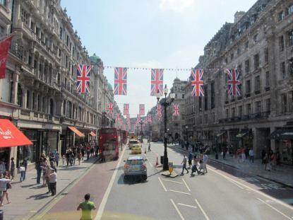 Regent Street bunting