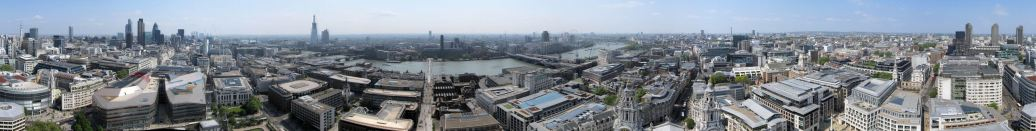 360° view from the top of St. Paul's
