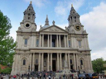 St. Paul's freshly cleaned