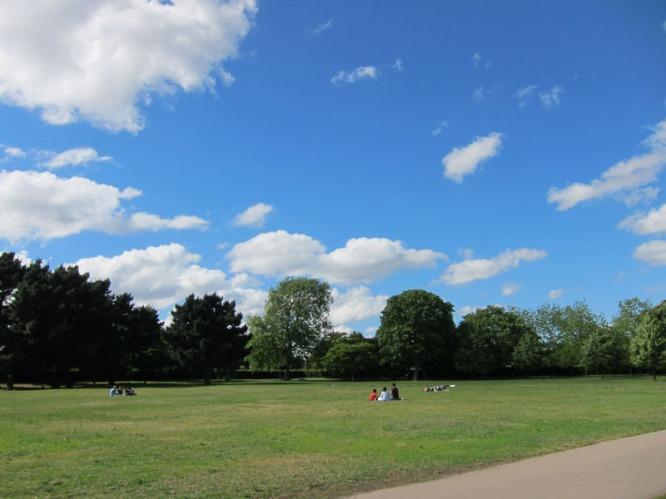 A lovely day in Regent's Park