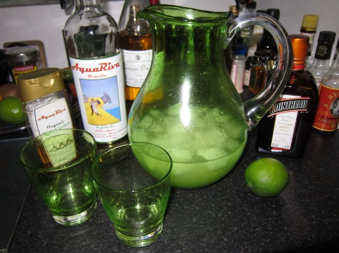 Cheeky Sunday evening jug of margarita