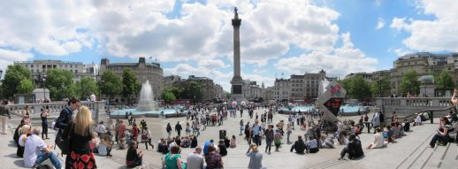 Rapture @ Trafalgar Square