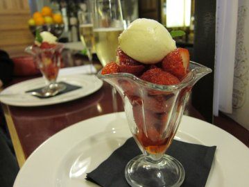 Strawberries and Champagne @ The Grand, St. Pancras