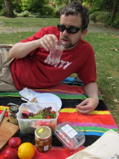 Picnic in the park - it must be summer