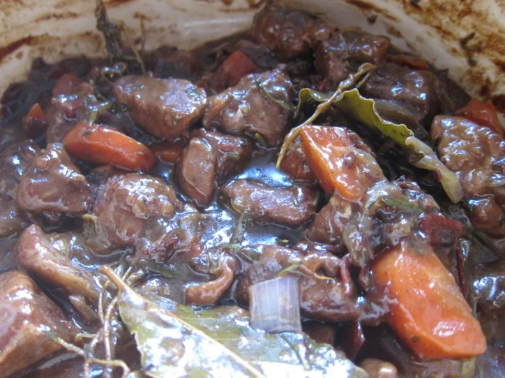 Balsamic braised mutton.