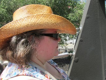 Hats on - it's hot