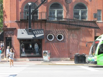 That building is staring at me!