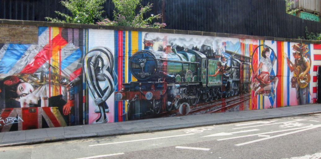 Mural in Camden