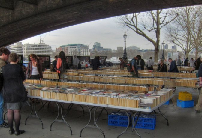 South Bank second hand book stalls