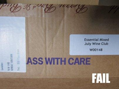 Label placement FAIL