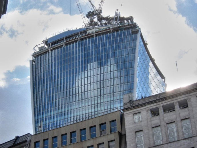 City walk Walkie-talkie building