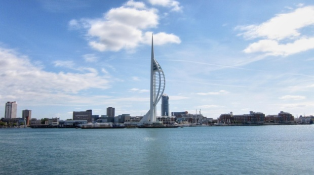 and the Spinnaker Tower