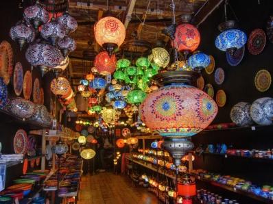 Turkish light shop, Camden Stables Market