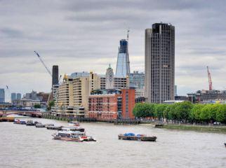 The Shard from Waterloo Bridge