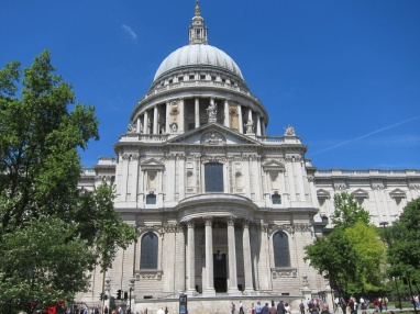St. Paul's Cathedral by Christopher Wren, completed 1711