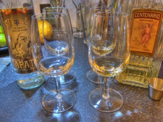 Tequila flight @ home