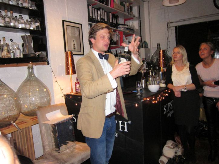 Gin Through the Ages with Sam Galsworthy @ Sipsmith.
