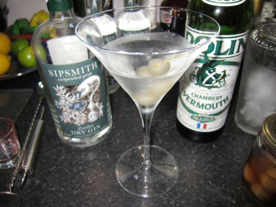 Sipsmith gibson @ home