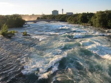 Rapids above American Falls