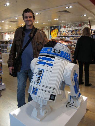 Lego R2D2 @ John Lewis